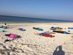 Релаксация на берегу моря